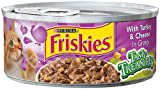 Purina Friskies Cat Food, Turkey Cheese, 5.50-Ounce (Pack of 24), My Pet Supplies