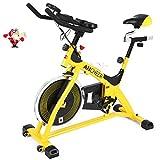 Best Spinning Bikes - ANCHEER Indoor Cycling Bike, Belt Drive Indoor Exercise Review