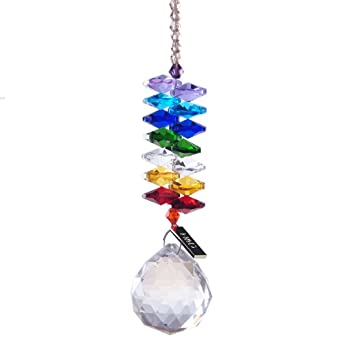 Hd chandelier crystals ball prism pendant rainbow maker chakra hd chandelier crystals ball prism pendant rainbow maker chakra cascade suncatcher aloadofball Image collections