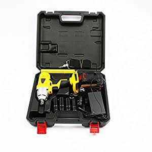 LUBAN 98V 12800mA Integrated Machine Rechangeable Electric Wrench Socket Wrench Tool Electric Power Drill Screwdriver