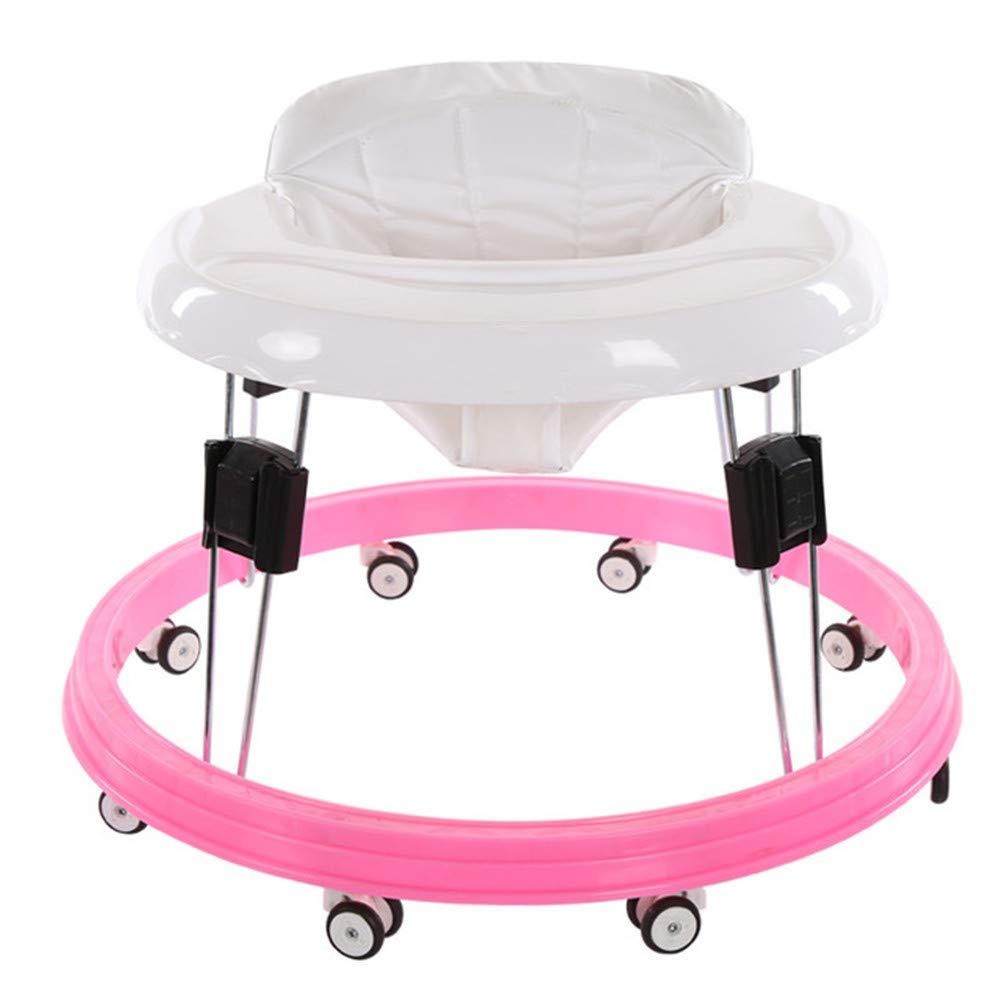 DHYBDZ Andador para bebés Plegable Instalación Gratuita Cojín 3 ...