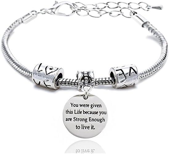 Knotenarmband personalisiert personalisiertes Geschenk Armreif mit Gravurpl\u00e4ttchen Armband mit Namensgravur Anh\u00e4nger