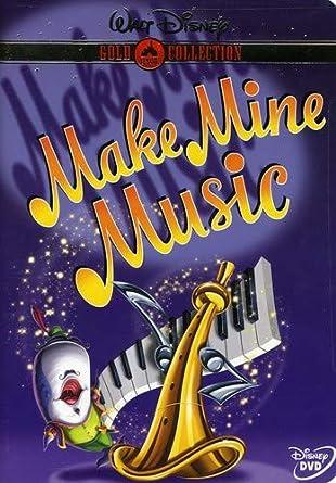 Amazon com: Make Mine Music (Disney Gold Classic Collection): Nelson