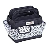 Everything Mary Grey Desktop Tote Storage Organizer - Bin for Tools, Crafts, Home, Garage, Make-Up, Office Desk, Nursery - Tote for Crafts, Brushes, Thread, Arts and Craft Supplies for Travel