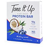 Tone It Up Protein Bars Blueberry Coconut 1.41ozx4 ( total 5.64oz) For Sale