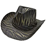 Peter Grimm - Mens Peter Grimm - Contraband Straw Cowboy Hat Brown