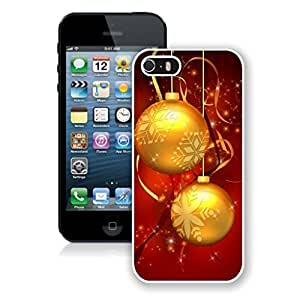 Case For Samsung Galsxy S3 I9300 Cover Case,Christmas Golden Jingling Bell White Case For Samsung Galsxy S3 I9300 Cover Protective Case