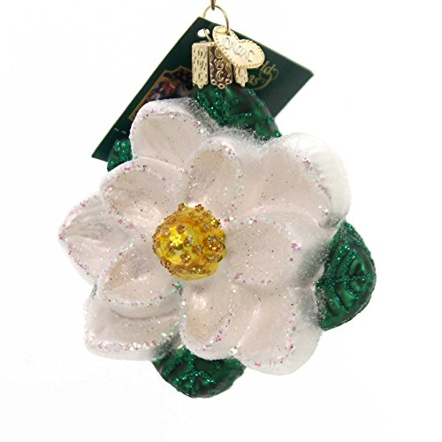 (Old World Christmas Ornaments: Magnolia Glass Blown Ornaments for Christmas Tree)