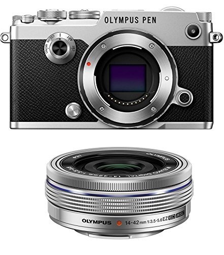 Olympus PEN-F Mirrorless Micro Four Thirds Digital Camera with Olympus M.Zuiko Digital ED 14-42mm f/3.5-5.6 EZ Lens (Olympus Imaging Kit)