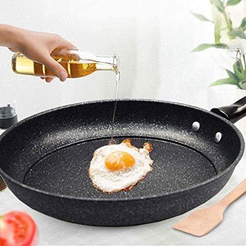 XXDTG Métal Casserole - Pierre Maifan Enduit antiadhésif Poêle Lave-Vaisselle Batterie de Cuisine Sécurité