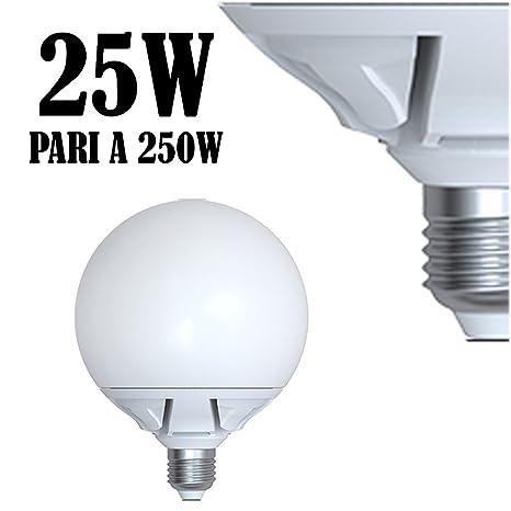 Luz Led 2130Lm fria GLOBO E27 Lampara 25W 7bfYgv6y