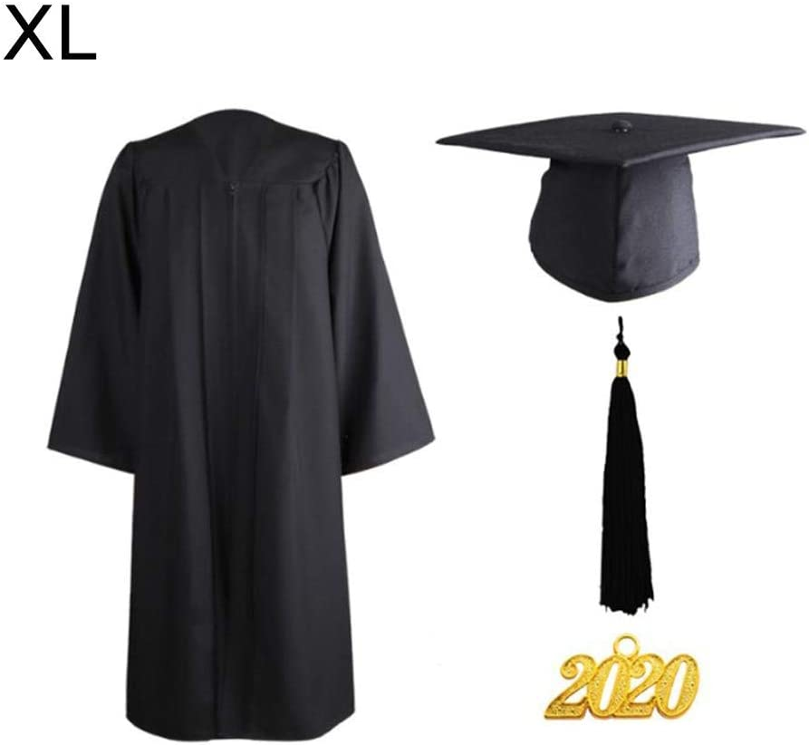 dewdropy Graduation Gown And Cap For Adults University High School