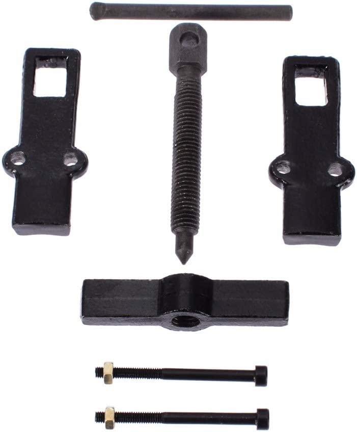 no logo 1pc Car Two Jaw Gear Pulley Bearing Puller Black Gear Puller Installation Remover Hand Tool 2 4 6 Small Leg Large Mechanics