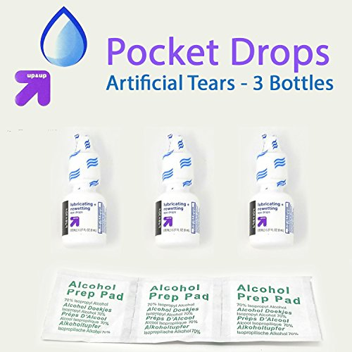 Lubricating Eye Drops - Rewetting Artificial Tears - 7.1FL OZ/24mL - Pack of 3 - - 2.7fl oz/8ml Each