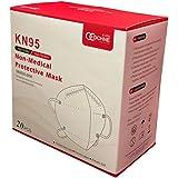 Cubrebocas mascarilla KN95 (20 PACK) NUEVA PRESENTACIÓN, con Ajuste nasal interno y empacado en BOLSAS INDIVIDUALES…