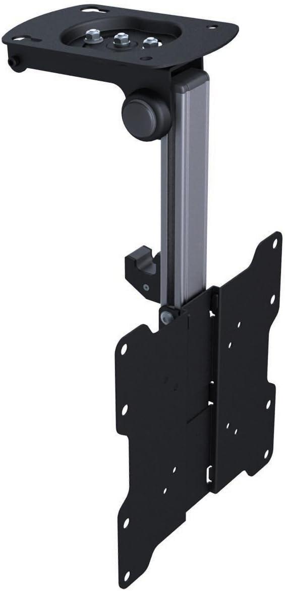KUMA Soporte abatible y Giratorio para Montaje en Techo o bajo armarios para televisores LCD y LED de 17