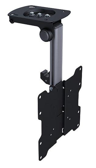 Soporte abatible y giratorio para montaje en techo o bajo armarios para televisores LCD y LED ...