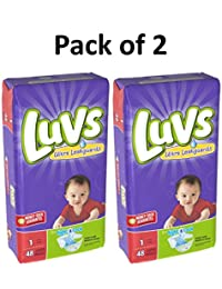 Luvs Ultra Leakguards Newborn Diapers Size 1, 48 Count Pack of 2 (Total of 96 Pampers) BOBEBE Online Baby Store From New York to Miami and Los Angeles