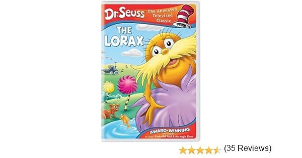 Amazon.com: Dr. Seuss - The Lorax/Pontoffel Pock & His Magic Piano ...