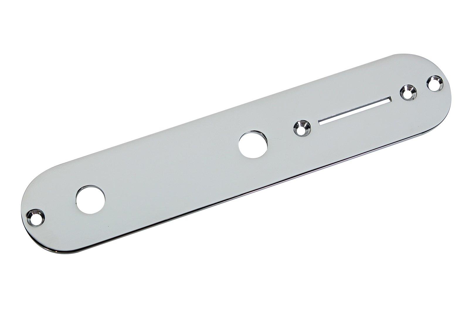 Fender Tele Telecaster Control Plate, Chrome
