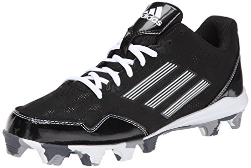 adidas Performance Men's Wheelhouse 2 Baseball Cleat, Black/White, 11 M US