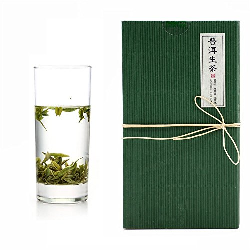 Luxtea Chinese Top10 Famous Tea - Yunnan Pu er Raw Tea/Green Pu erh Tea/Wild Puer Puerh Loose Leaf - Grade AA (High Grade)