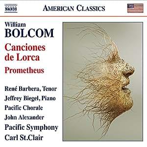 Bolcom: Canciones de Lorca - Prometheus
