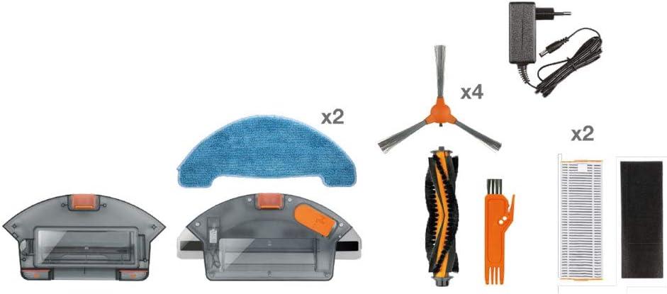 Solac Lucid i10 - Robot aspirador, programas de limpieza automáticos, autonomía 160 min, motor Strong Suction iTech: Amazon.es: Hogar