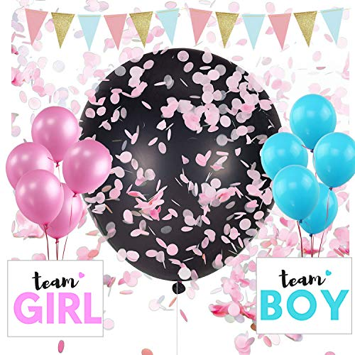 (Myfest Gender Reveal Balloon with Confetti Kit Party Supplies Decorations Boy Girl Pregnancy Announcement 36