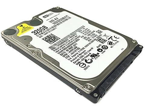 Western Digital WD3200BVVT 320GB 8MB Cache 5400RPM SATA 3.0Gb/s 2.5