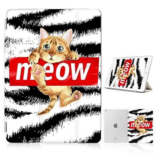 for iPad Pro 9.7 Inch 2016 Model, Designed Smart Case Cover, SMART40210 Kitten Cat Meow 40210