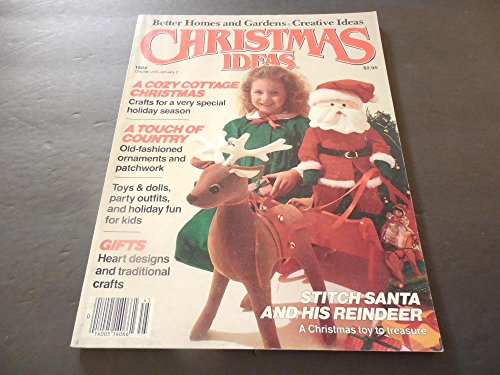 Better Homes Gardens Christmas Ideas 1984 Crafts; Ornaments -