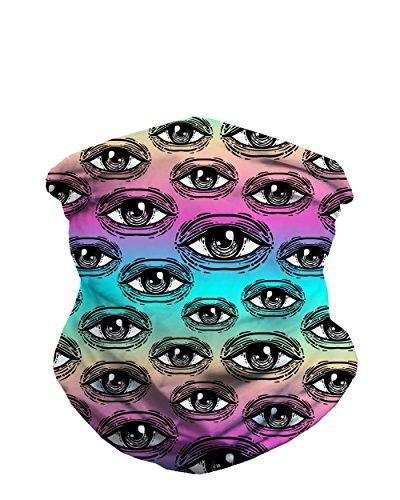 iHeartRaves Infinite Eyes Seamless Mask Bandana