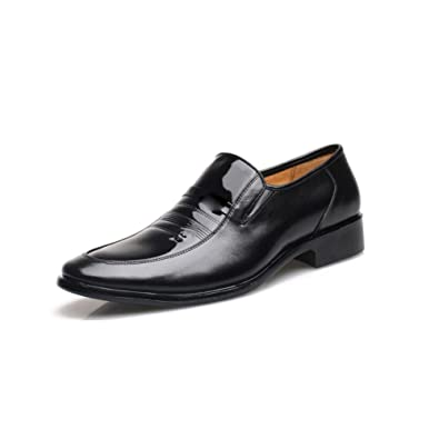 LEDLFIE Herren Echtes Leder Schuhe Business Formelle Freizeitschuhe