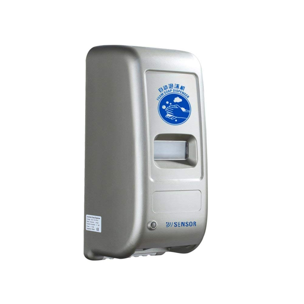 実用ソープディスペンサー 自動タッチレスソープディスペンサー、壁掛け式、子供用、ソープディスペンサー、赤外線赤外線モーションセンサーハンドフリーディッシュソープホテルバスルームハンドソープシャンプーボックス-A 27 x 12 x 12.5 cm(11 x 5 x 5インチ) B07SR3FGXT