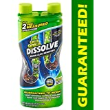 Green Gobbler GGDIS2CH32 DISSOLVE Liquid Hair & Grease Clog Remover/Drain Opener/Drain cleaner/Toilet Clog Remover (31 OZ.)