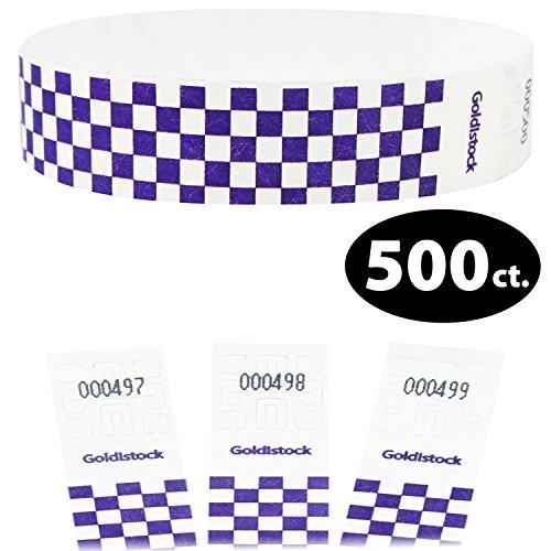 (Goldistock Select - Deep Purple Checkerboard - 3/4