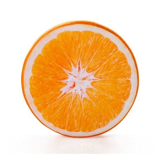 Orange Slice Pillow Fruit Plush 1