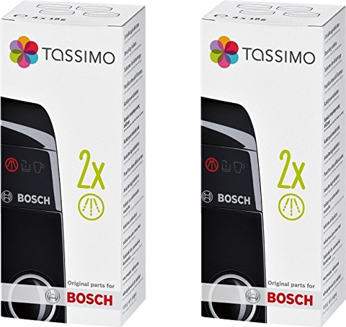 Tassimo Bosch Original Descaling Tablets Multi Pack 8 Tablets (4 X (Tassimo Espresso Maker)