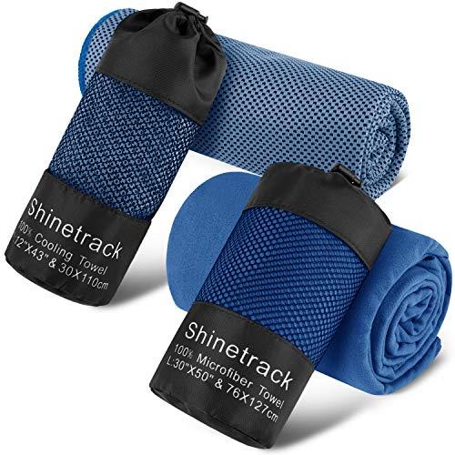 Shinetrack Gym Towels Set
