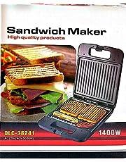 DLC Sandwich Maker Black
