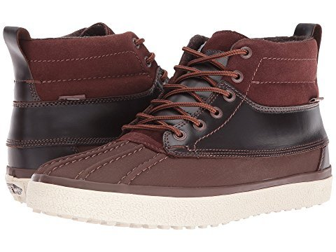 51ce8571fae8b7 Galleon - Vans Unisex SK8-Hi Del Pato MTE DX (MTE) Brown 7.5 Women / 6 Men  M US