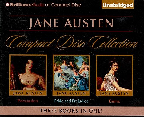 Jane Austen Unabridged CD Collection: Pride and Prejudice, Persuasion, Emma