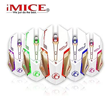 886de921257 Sut ESTONE iMice V8 Wired Gaming Mouse 4000DPI LED Optical AVAGO3050 Game  Chip 5 Colorful Backlight: Amazon.co.uk: Electronics