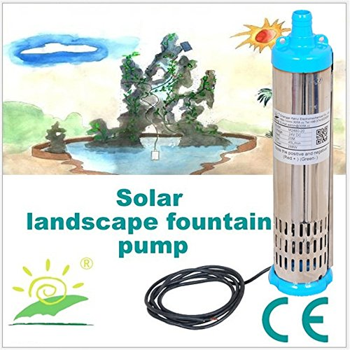 DC Brushless Solar Water Pump 12v 3m3/hour solar submersi...
