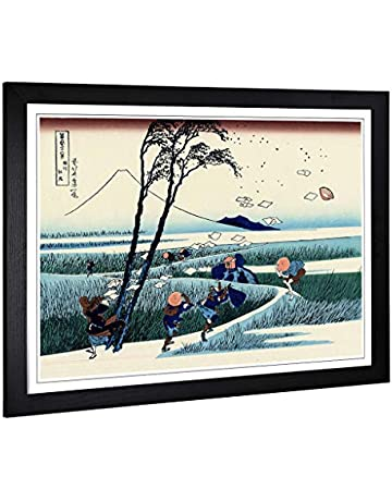 971fee268ec5 Big Box Art Framed Print of Hokusai Japanese Oriental Ejiri (2) Design