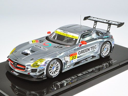 EBBRO 1 43 verde TEC SLS AMG GT3 SUPER GT300 2013 No.22 (japan import)