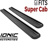 Ionic Factory Style (Fits) 1999-2016 Ford F250 F350 Super Duty SuperCab Only Running Boards Side Steps (3800703060)