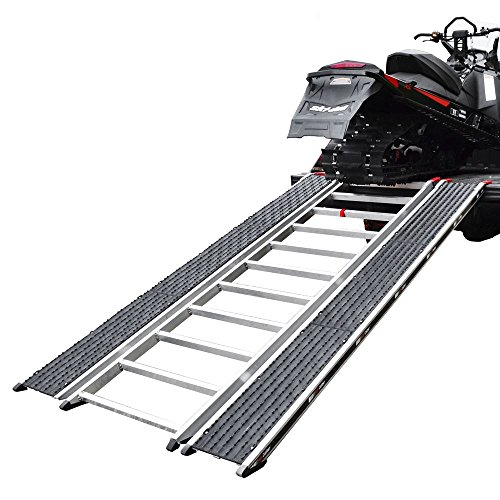 "Caliber CBR-13526 PRO Snowmobile and ATV Loading Ramp - 7'6"", Long"