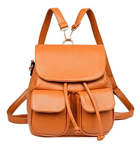 PPL - Bolso mochila  para mujer marrón marrón large marrón